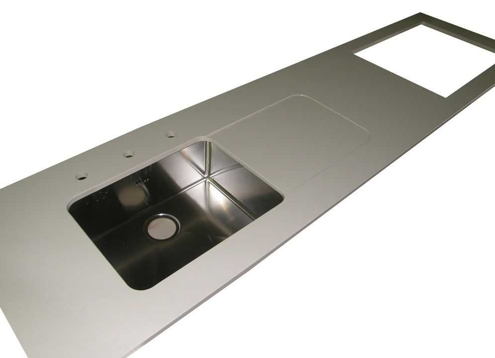 Evier cuisine granit plan de cuisine granit quartz 8 for Montage evier cuisine