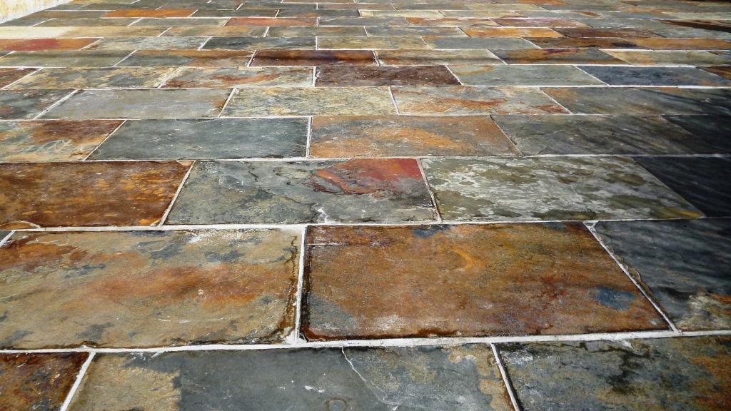 Terrasses sols pierre naturelle - Dallage terrasse pierre naturelle ...